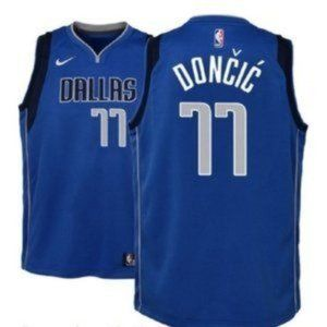 Youth Luka Doncic Dallas Mavericks #77 Jersey